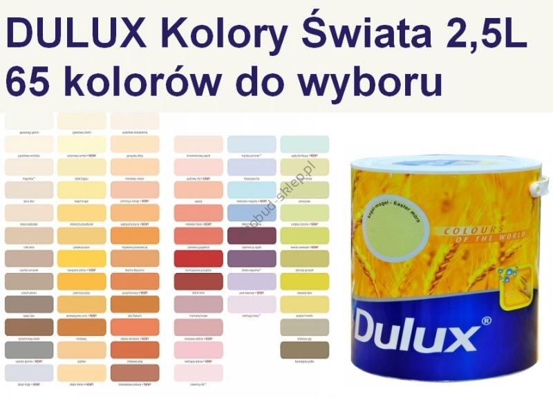 Dulux farba do wnętrz. Kolory Świata