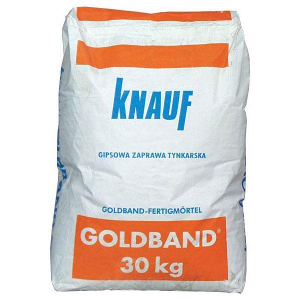 Tynk Gipsowy Reczny Knauf Goldband 30 Kg 123budujemy