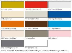 Fuga sopro kolory