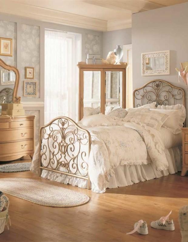 vintage-sypialnia