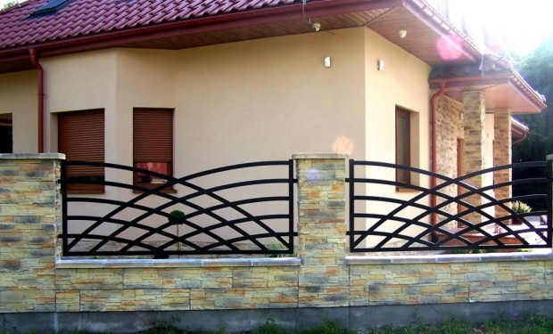 ogrodzenie metalowe gotowe przesła