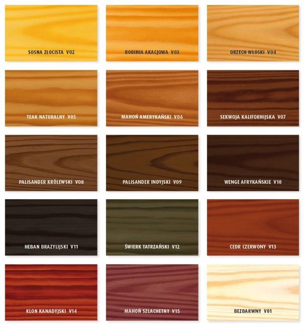 Vidaron Impregnat kolory