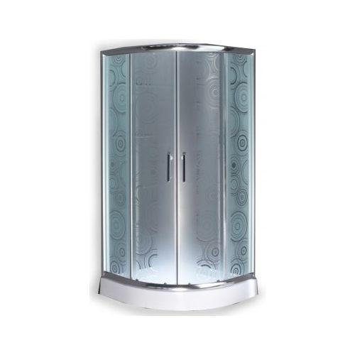 kabina prysznicowa z brodzikiem opinie Parma Round Dark