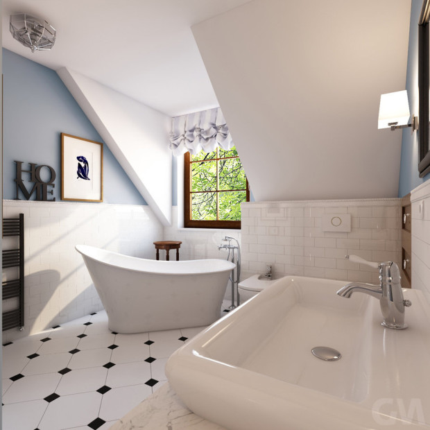 aranżacje łazienek, projekt łazienki