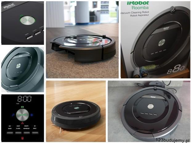 jak działa iRobot Roomba 880 opinie