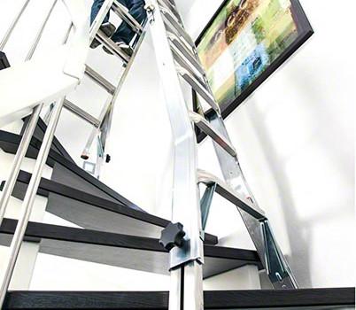 jaka drabina na schody