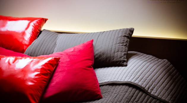 podświetlenie łóżka