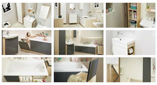 meble łazienkowe cersanit