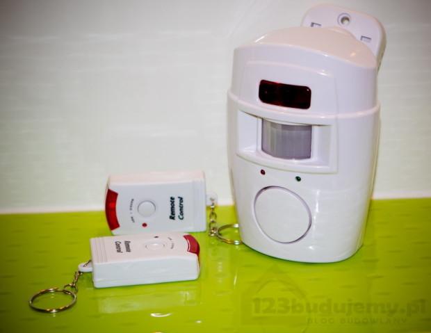 ORNO alarm na baterie czujka ruchu