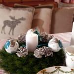zdobik świąteczny na stół