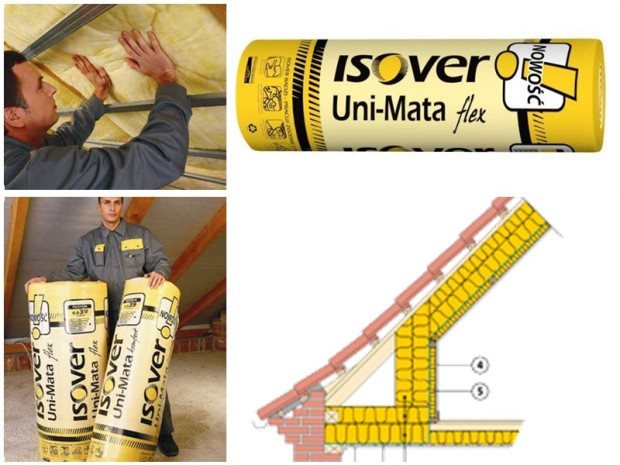 Wełna ISOVER Uni-Mata flex cena