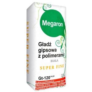 Gładź gipsowa Megaron SUPER FINISZ GT-120 biała opinie