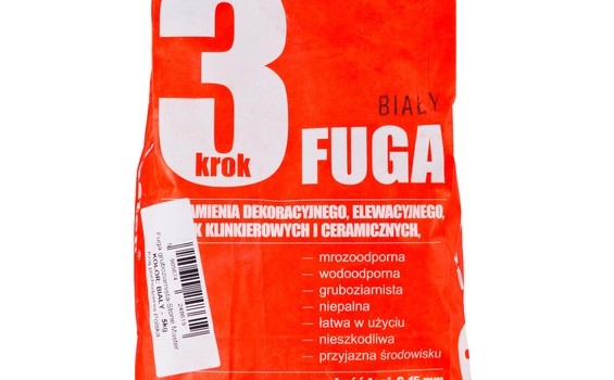fuga stone master biały 5 kg