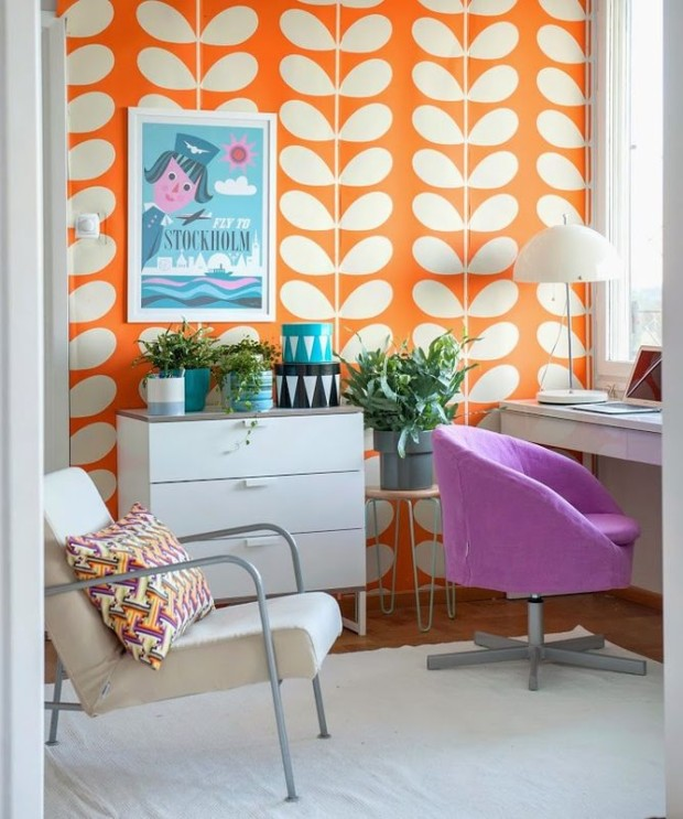 Motywy i desenie na ścianach