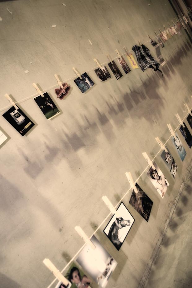 pomysł na zdjęcia na ścianach