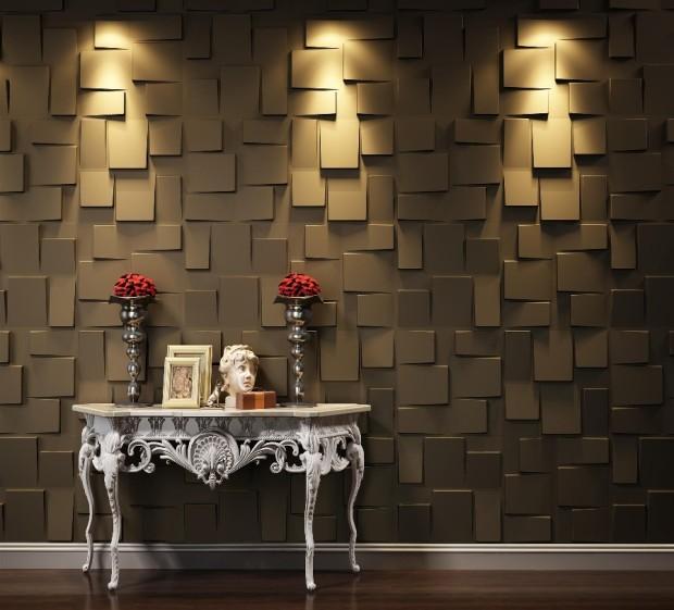 aranżacja ściany panele ścienne