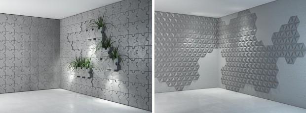 piękno betonu we wnętrzach