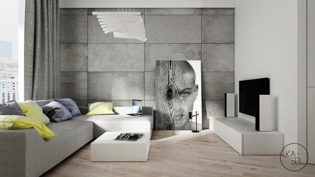 motywy batonu surowego na ścianach