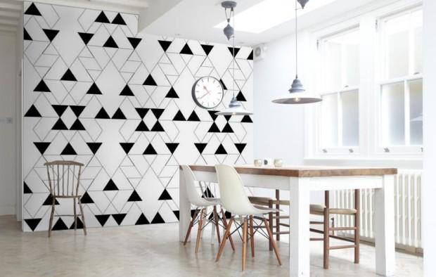 wzory na ścianach inspiracje