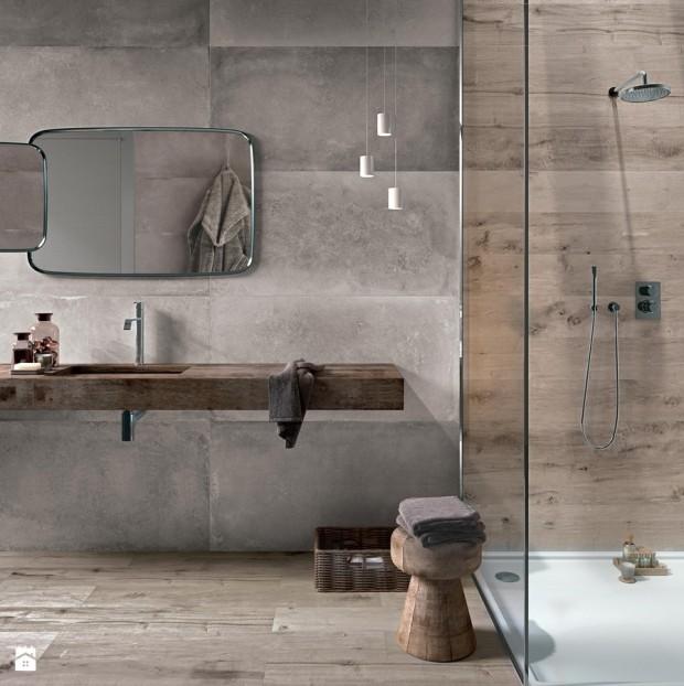 surowy beton łazienka