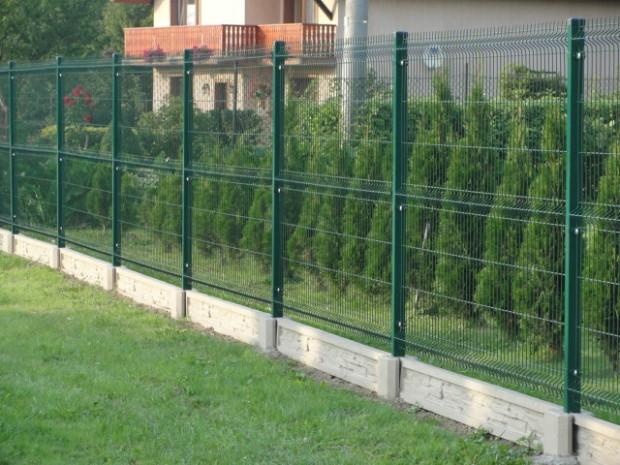 panele ogrodzeniowe podmurówka