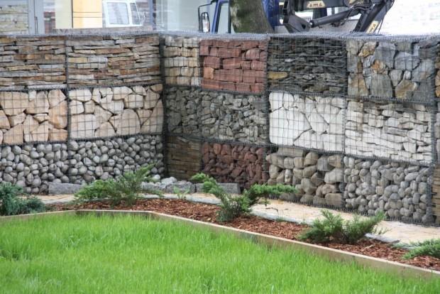 ogrodzenie gabiony ogrodzeniowe