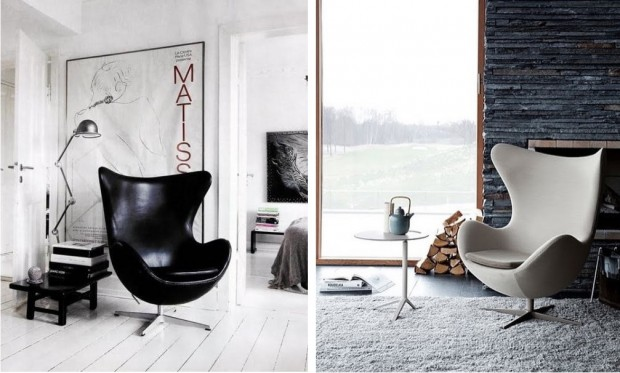 stylowe wnętrza design Eeg Chair