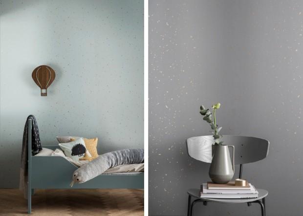 tapety aranżacje design Ferm Living