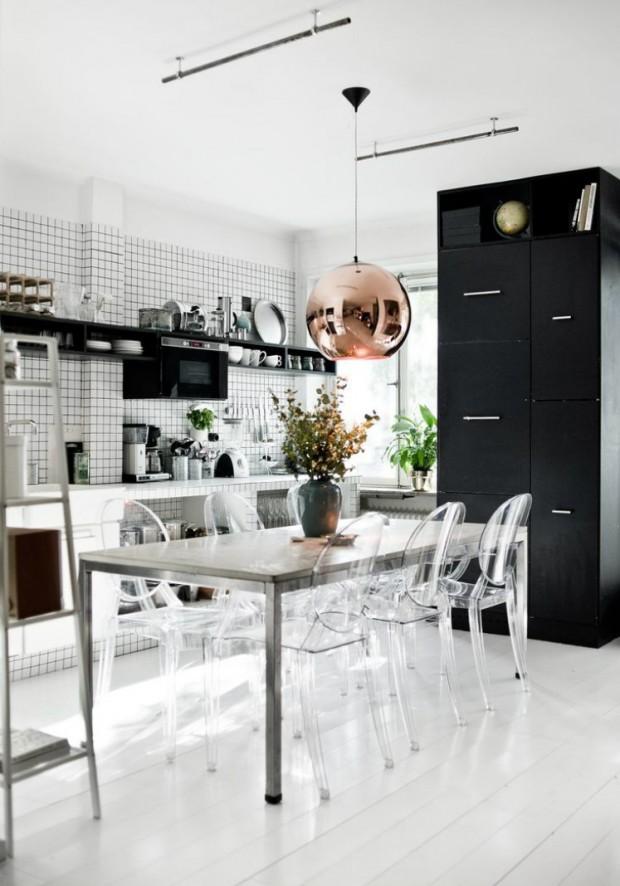 krzesła kuchenne przeźroczyte