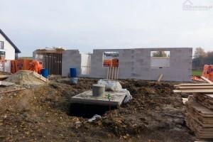 murowanie ścian z bloczków z betonu komórkowego