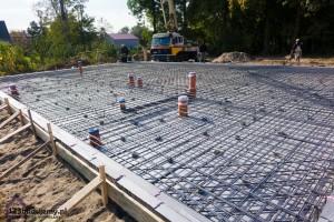 budowa domy wykonanie płyty fundamentowej