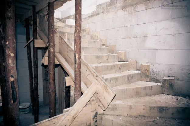 schody zabiegowe betonowe