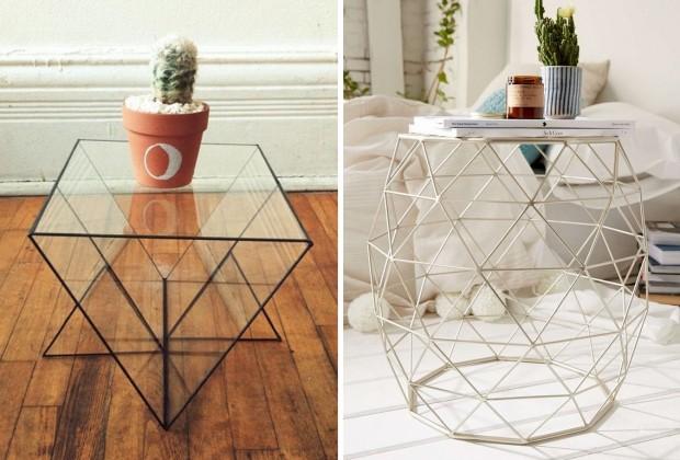 stoły origami styl azjatycki