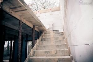 szalunek schodów betonowych