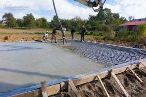 płyta fundamentowa beton wyrównywanie