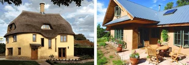 nowoczesne domy z gliny