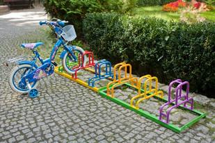 stojak na rowery dla dzieci