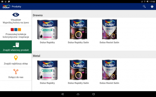 DULUX Visualizer jak dobrać kolor do wnętrza
