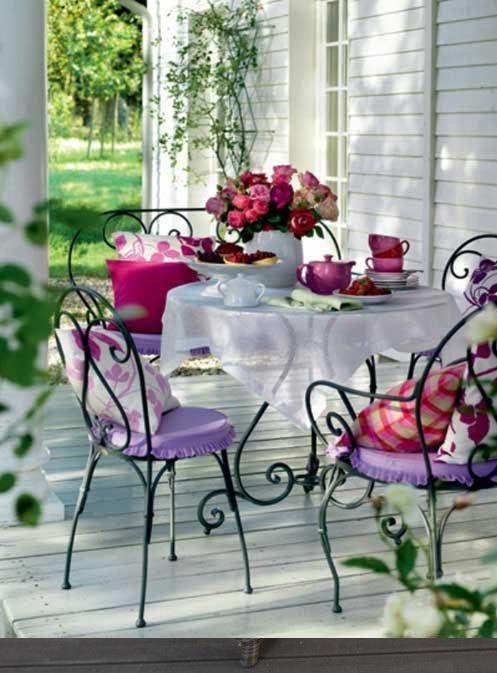 meble na taras lekki stół krzesła