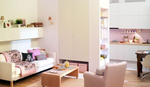 jak urządzić małe pomieszczenie