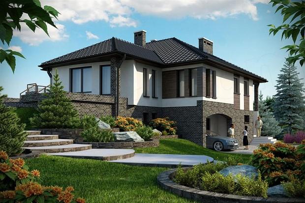 Projekt domu Murowaniec B DM-6158 B