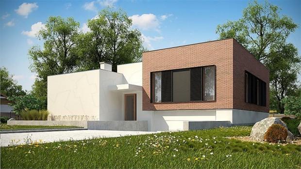 Projekt domu Zx132