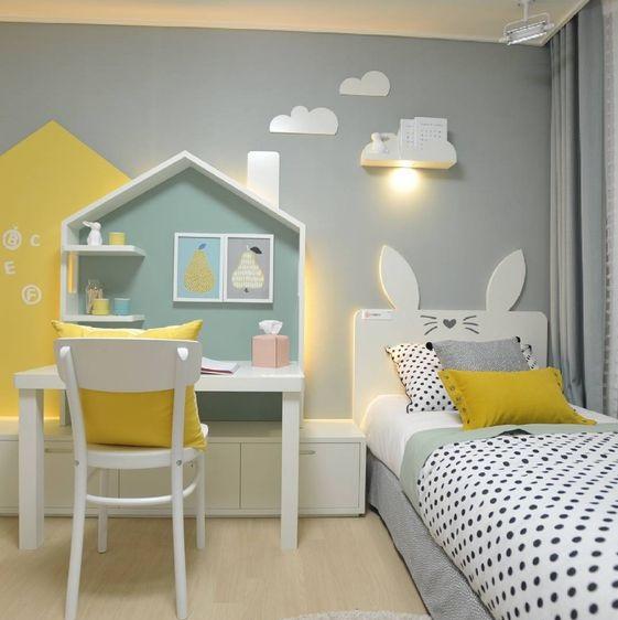 przytulny pokój dla dziecka