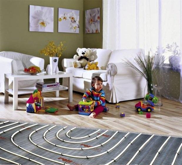instalacja ogrzewania podłogowego