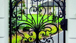 ogrodzenie kute, ogrodzenie klasyczne, kowalstwo artystyczne, ogrodzenie cynkowane.