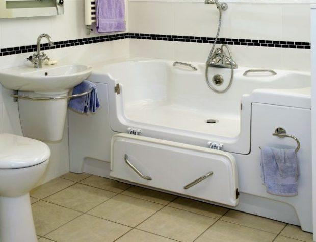 wyposażenie łazienki dla osób niepełnosprawnych
