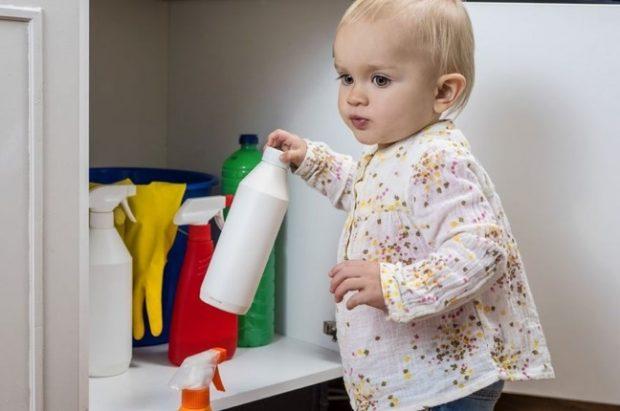 chemia gospodarcza zagrożenie dla dzieci