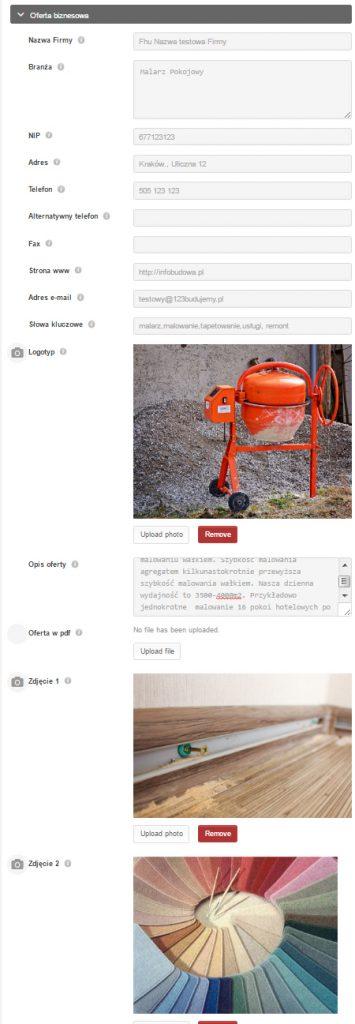 Darmowy katalog firm budowlanych
