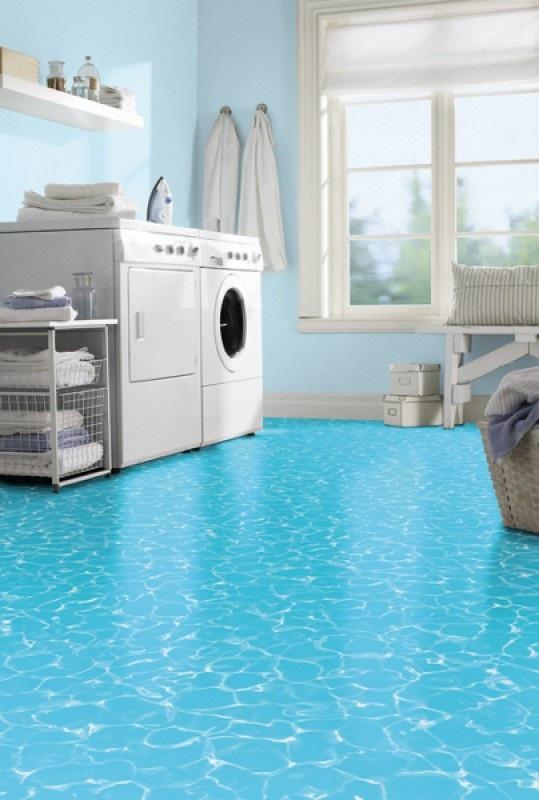 podłogo pcv wykładzina łazienka pralnia