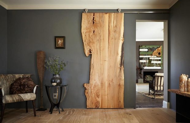 drzwi przesuwne lite drzewo